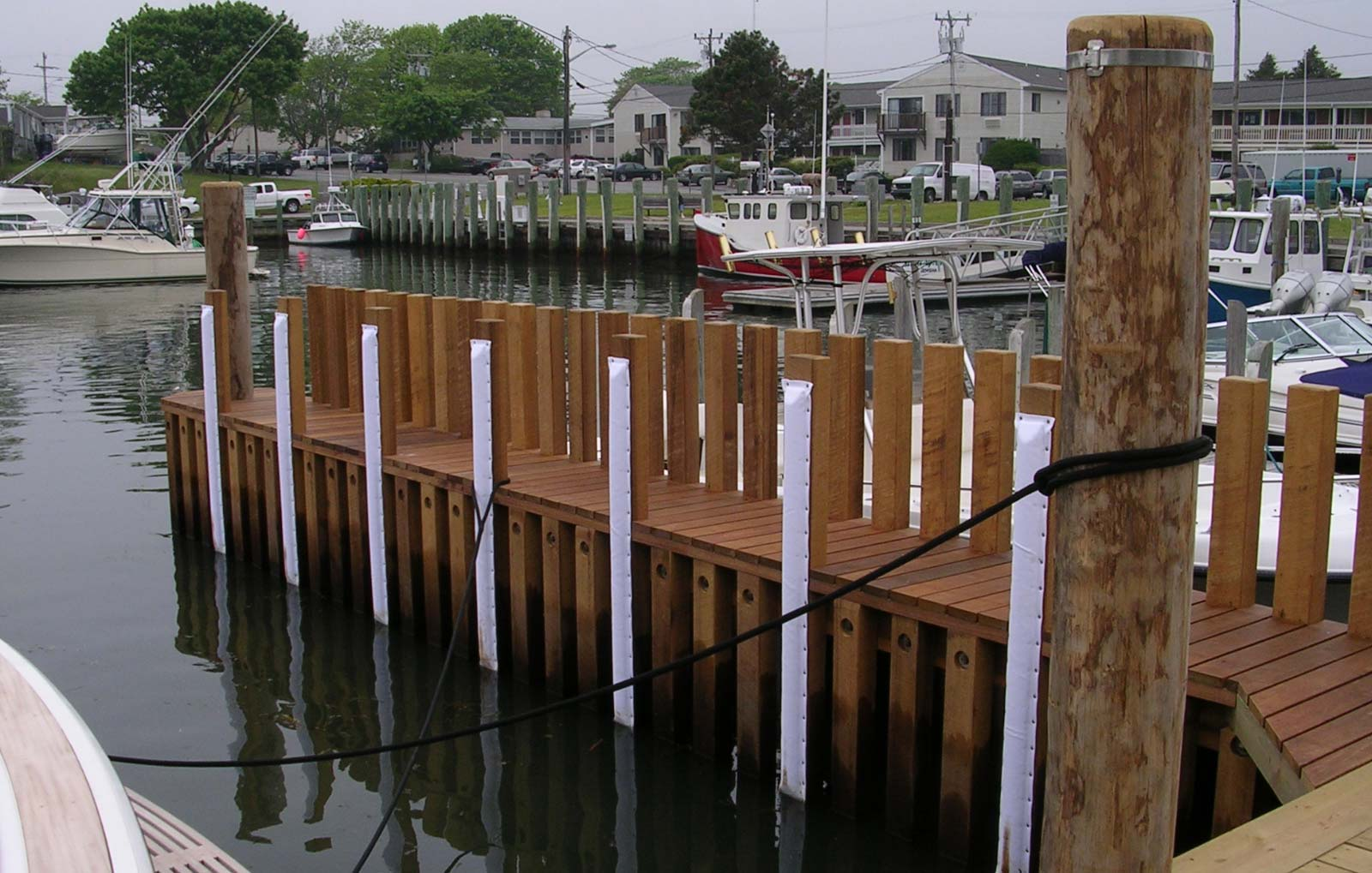 Falmouth Harbor Dock Repair