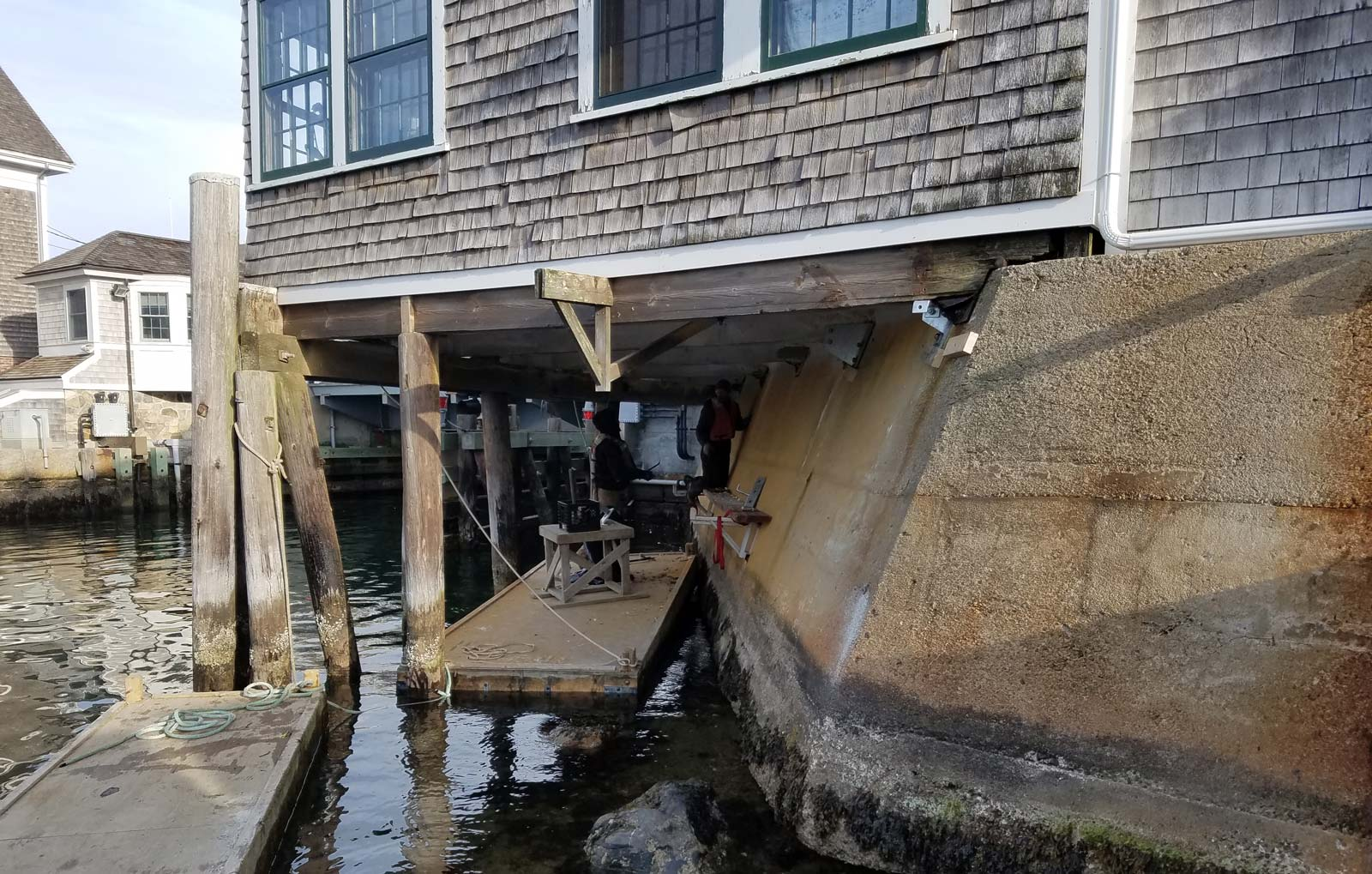 Woods Hole Sea Wall Repair